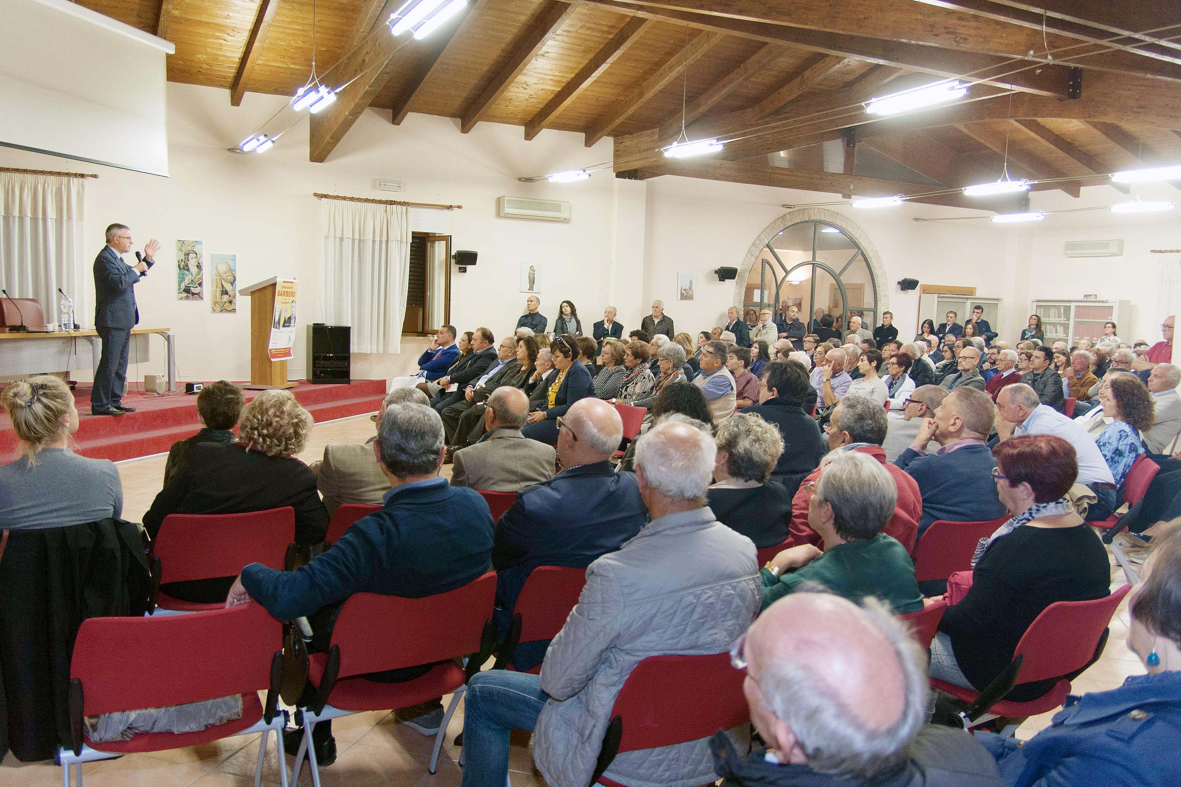 """Alessandro Barbero a San Severo presenta il suo libro """"Caporetto"""""""